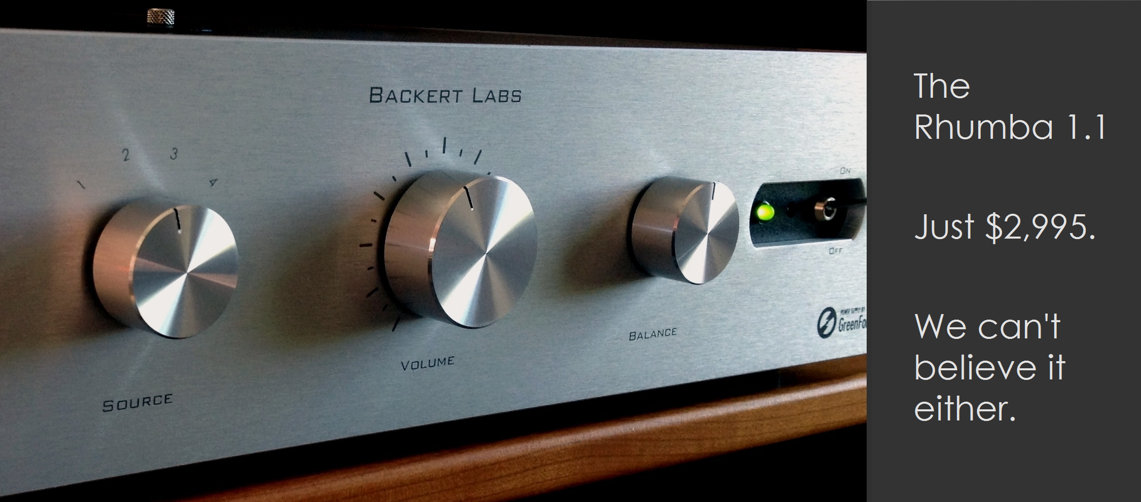 Backert Labs preamps