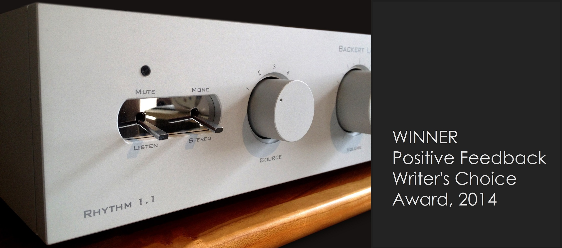 Backert Labs tube preamp
